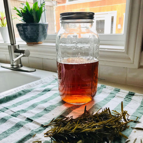 circulation - rosemary tea