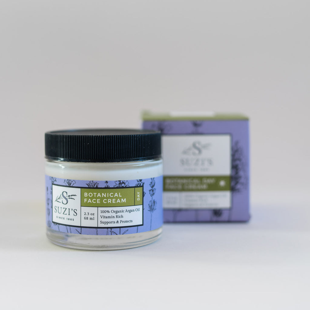 All Natural Botanical Face Cream - Suzi's Lavender