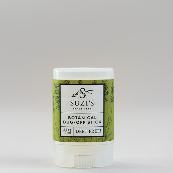 All Natural Botanical Bug Off Natural Insect Repellent Stick With Eucalyptus - Suzi's Lavender