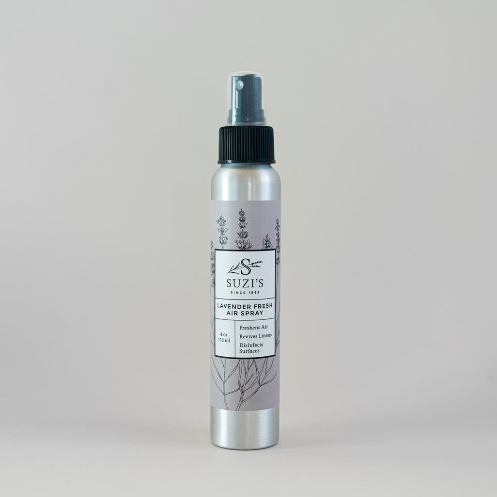 Fresh Air Lavender Essential Oil Soothing Spray - Suzi's Lavender
