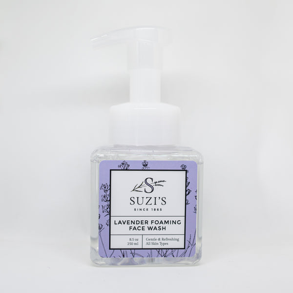 All Natural Lavender Foaming Face Wash - Suzi's Lavender