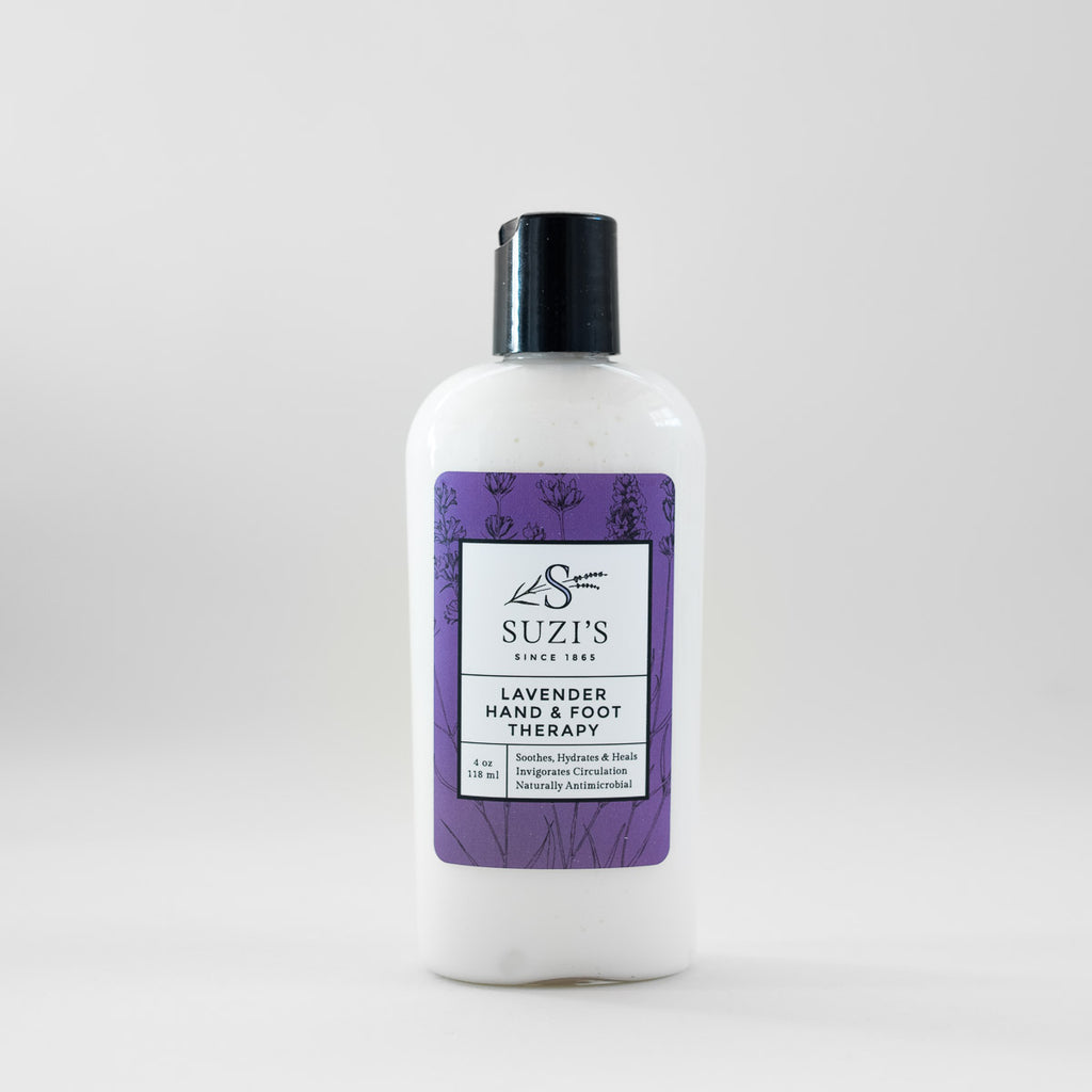 All Natural Lavender Hand And Foot Lotion Soothing - Suzi's Lavender