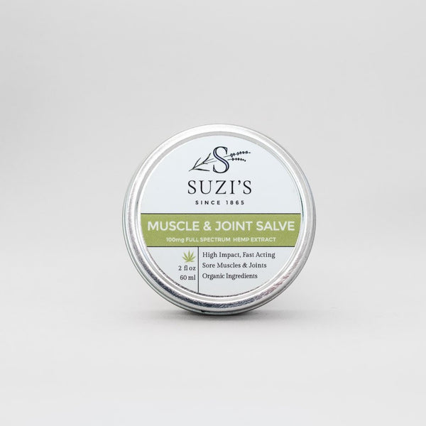 Muscle & Joint Salve With CBD All Natural Pain Relief - Suzi's Lavender
