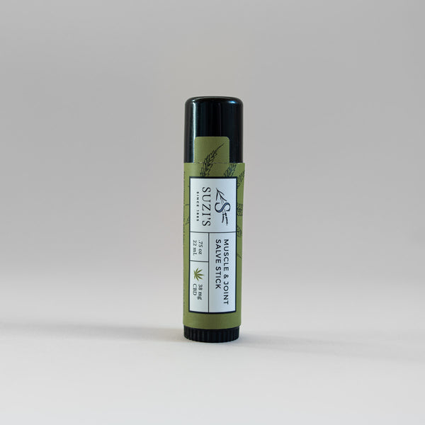Muscle & Joint Salve Stick With CBD Pain Relief - Suzi's Lavender