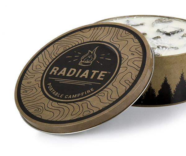 Radiate Portable Campfire - Single