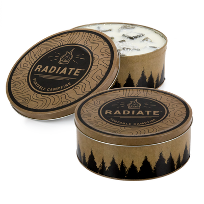 Radiate Portable Campfire CLASSIC - 2 Pack (Save 10%)