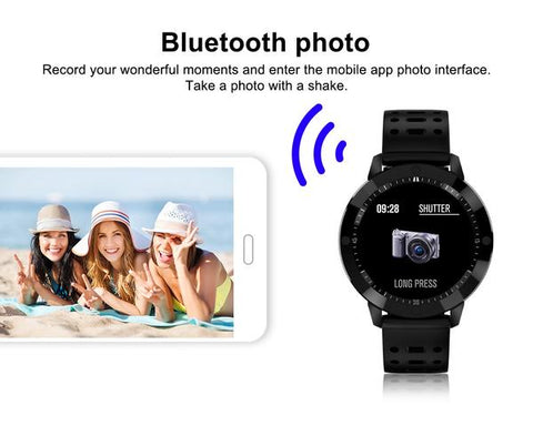 Sports Fitness Smartwatch for Women