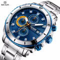Men's Stainless Steel Quartz Wristwatch