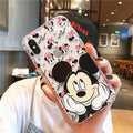 Cute Soft Mickey Mouse Cartoon Case for iPhone