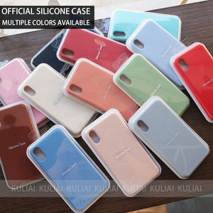Original Silicone Case For iPhone