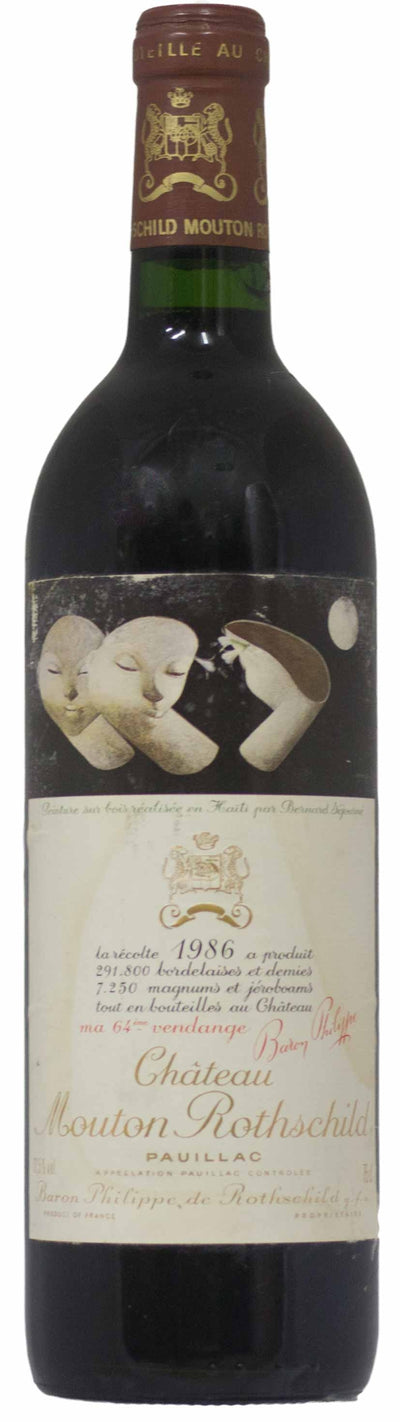Chateau Mouton Rothschild 1986 Pauillac | Mitchell and Son Exchange