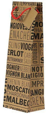 Wine Gift Bag - Grape Varieties