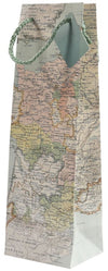 Wine Gift Bag - Antique Map