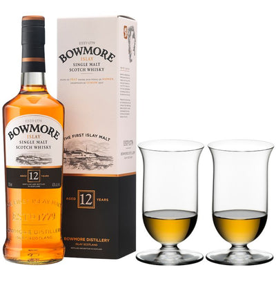 Perfect Pairings - Riedel Vinum Single Malt Whisky & Bowmore 12 year old Islay Scotch Whisky