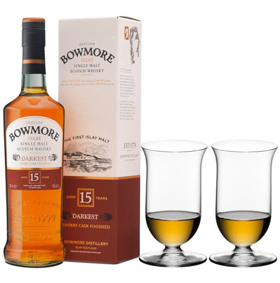 Perfect Pairings - Riedel Vinum Single Malt Whisky & Bowmore 15 year old Islay Scotch Whisky