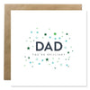 Dad, You're Brilliant Bold Bunny Father's Day Greeting Card