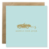 'Happily Ever After' Bold Bunny Wedding Greeting Card
