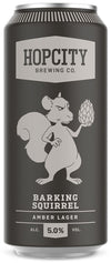 Hop City Barking Squirrel Amber Lager 473ml can