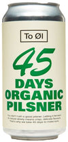 Tool 45 Days Organic Pilsner 44cl can | Danish Craft Beer