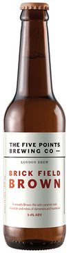 Five Points Brewing Brick Field Brown Ale 33cl bottle
