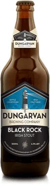 Dungarvan Black Rock Irish Stout 50cl bottle