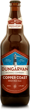 Dungarvan Copper Coast Irish Red Ale 50cl bottle