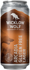 Wicklow Wolf Arcadia Gluten-Free Lager 44cl can | Irish Craft Beer