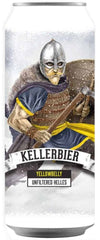 YellowBelly Kellerbier Unfiltered Helles Beer can