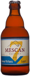 Mescan Brewery 'Seven Virtues' Lager 33cl bottle