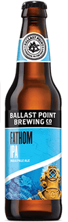 Ballast Point Fathom IPA 355ml bottle
