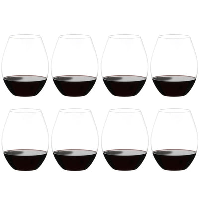 0414/41 Riedel Big O Series Syrah | Box of 2 Stemless Wine Glasses