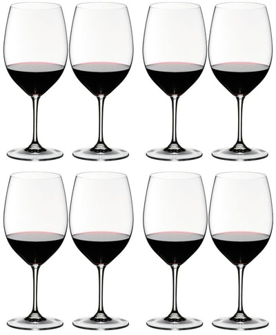 6416/00 Riedel Vinum Bordeaux Wine Glass | 4 Boxes of 2