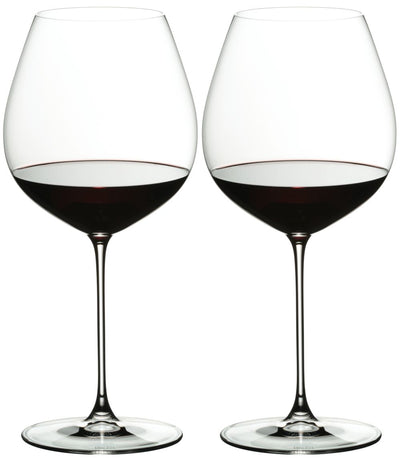 6449/07 Riedel Veritas Old World Pinot Noir Glasses - Box of 2