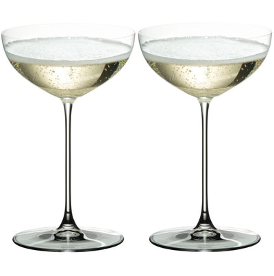 6449/09 Riedel Veritas Champagne Coupe/Martini/Moscato Glasses - Box of 2