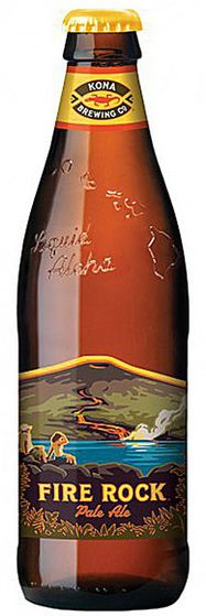 Kona Fire Rock Pale Ale 355ml bottle