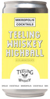 Mikropolis Cocktails Teeling Whiskey Highball 25cl can