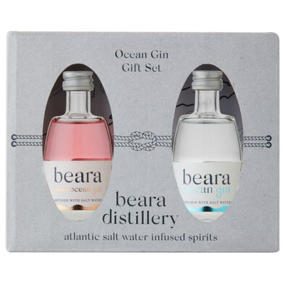 Beara Ocean Gin Miniature Gift Set 2x50ml
