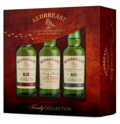 Redbreast Family Collection Miniature Gift Set