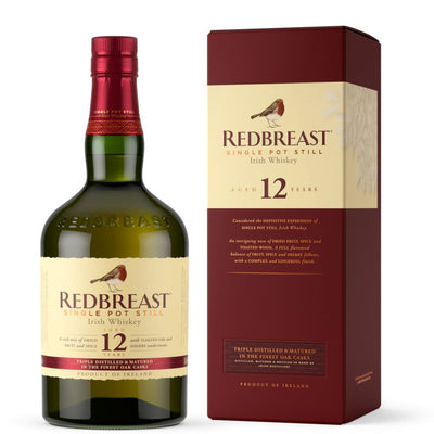 Redbreast 12 year old Pot Still Irish Whiskey