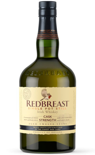 Redbreast 12 year old Cask Strength Irish Pot Still Whiskey