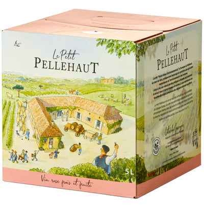 Le Petit Pellehaut Rosé 5 litre Bag-in-Box | French Wine