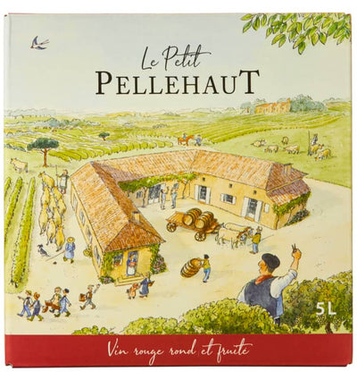 Le Petit Pellehaut Rouge 5 litre Bag-in-Box | French Red Wine