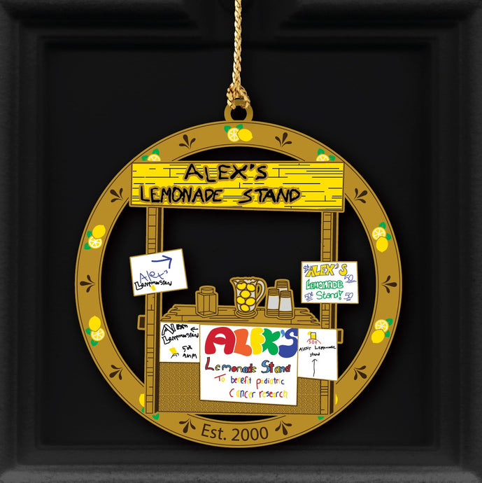 Alex's Original Lemonade Stand 20th Anniversary Ornament