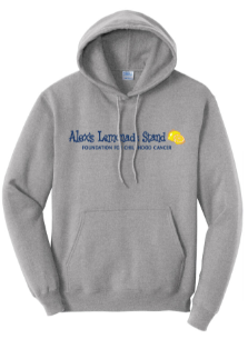 Alex's Lemonade Stand hoodie to benefit childhood cancer research