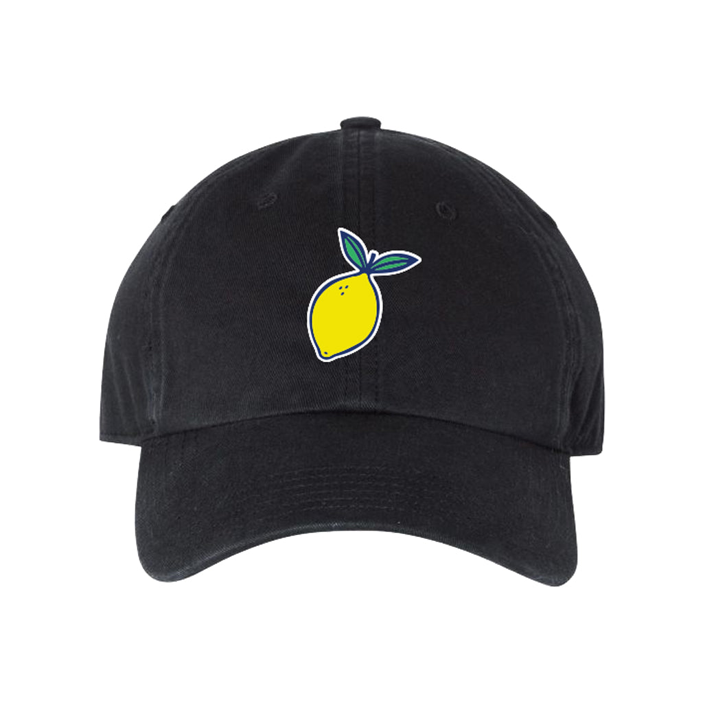 Black Lemon Baseball Hat