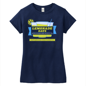 Lemonade Days Ladies T-Shirt