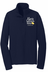 Eddie Bauer Men's Half-Zip Fleece with Embroidered ALSF Logo