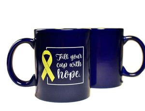 ALSF Fill Your Cup with Hope Mug