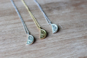 Slice Of Hope Necklace