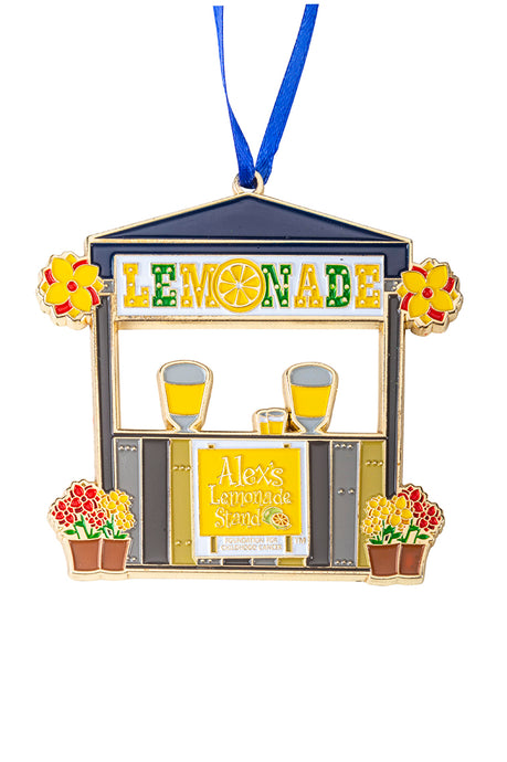 Lemonade and Love For Sam Ornament